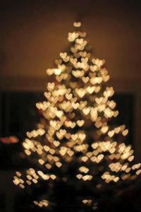 corazones y arbol navidad